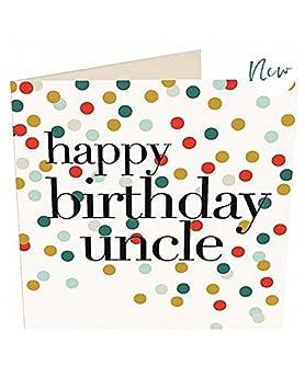 Joyeux Anniversaire Uncle Carte Par Caroline Gardner Chn028