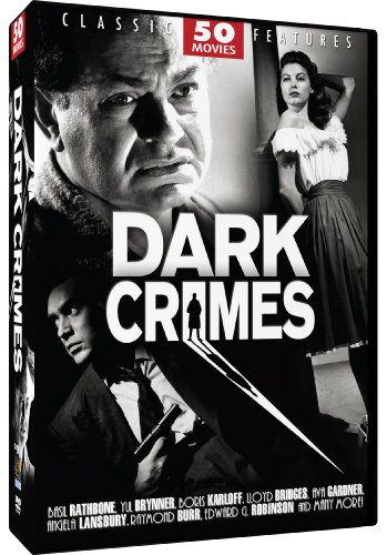 Dark Crimes - 50 Movie Set: Flowers from a Stranger - The Limping Man - The Mystery of Mr. Wong - The Strange Woman - Whistle Stop - D.O.A. + - D&g Discount