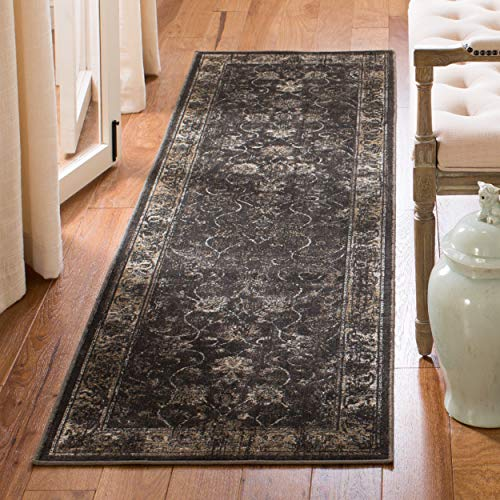 Safavieh Tabriz Floral Collection TF31 Hand-Knotted Multicolored Silk & Wool Area Rug, 9 feet by 12 feet (9' x 12')