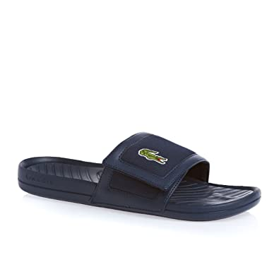 1b9ffd4a3 Lacoste Fynton USM Flip Flops Dark Blue Dark Blue 8 UK  Amazon.co.uk  Shoes    Bags