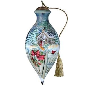 Ne' Qwa Snow Chapel Ornament