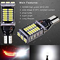 ANYHOW 912 921 LED Cargo Area Light for Ford F-150 Trunk Lamp Bulb 6000K Bright