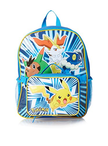 Pokemon Pika Pop Backpack Detachable Lunchbox Lunch Bag