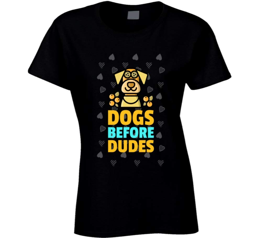 Funny Dogs Before Dudes Custom Gift Ladies Shirts