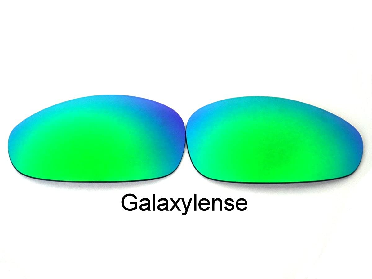 233b8a7ffe Amazon.com  Galaxy Replacement lenses For Oakley Juliet Emerald Green Color  Polarized  Clothing