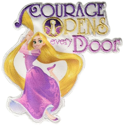 Wrights Rapunzel - Courage Disney Princess Iron-On - Disney Iron Princess