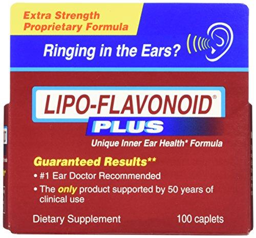 LiPo-flavonoïdes Plus supplément diététique oreille santé, 100 comprimés (Pack de 2)