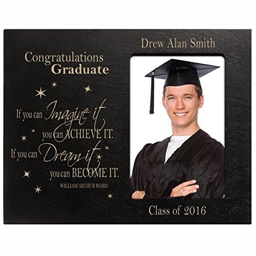 Personalized Graduation Picture gift for 2016 graduate ideas for men and women (Photo Graduation Announcements)