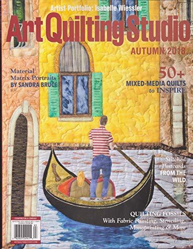 (Art Quilting Studio Magazine Autumn 2018)