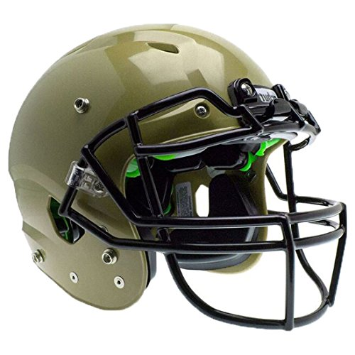 Schutt Sports Vengeance A3 Youth Football Helmet (Facemask NOT Included), Metallic Vegas Gold, Medium ()