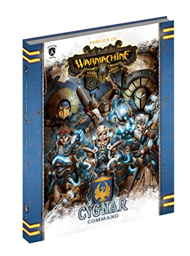 Privateer Press Forces of Warmachine: Cygnar Command Hard...