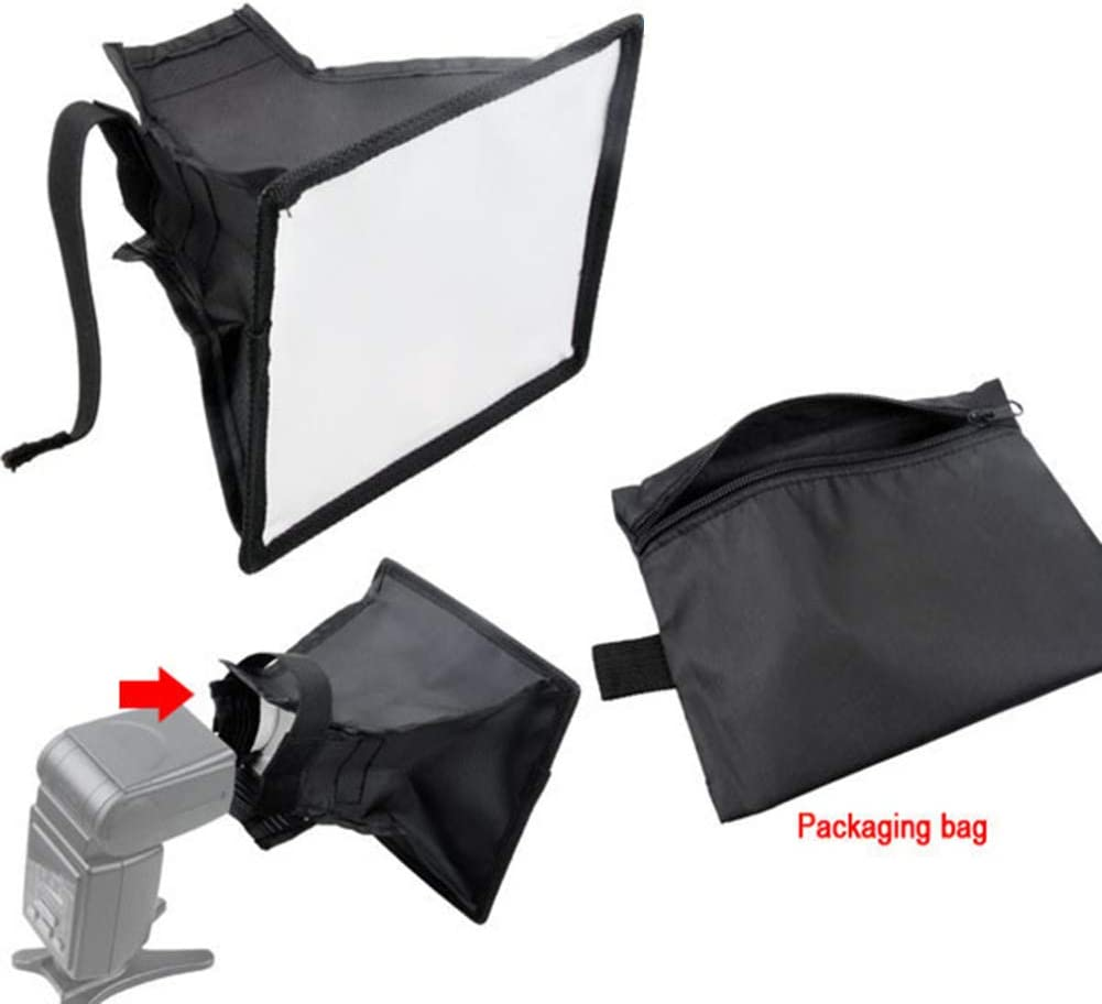 Softbox,Wulidasheng Camera Accessories Flash Diffuser Light Softbox Photography Studio for Canon Nikon Sony Speedlight