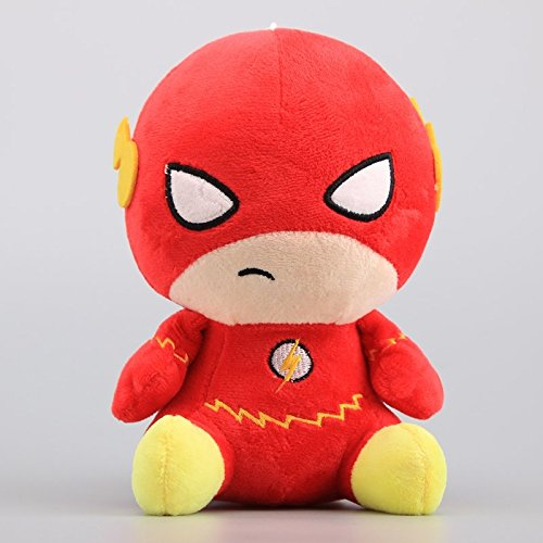 Justice League Plush - The Flash 7 Inch Toddler Stuffed Plush Kids Toys