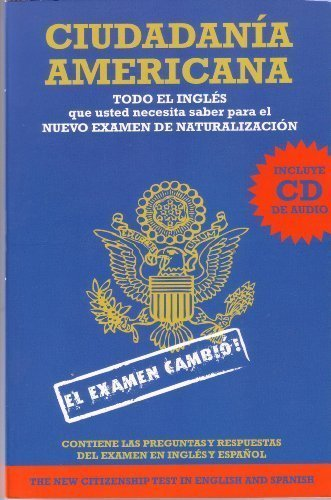 Ciudadania Americana  (Spanish and English Edition)