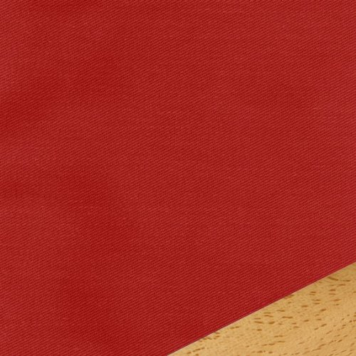 Solid Red Fitted Mattress Cover Full 410