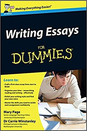amazoncom writing essays for dummies  mary page