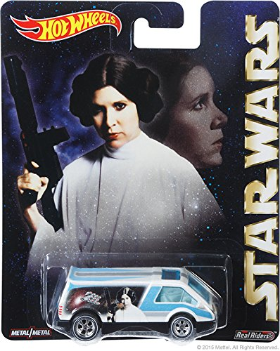 Hot Wheels Pop Culture Star Wars Princess Leia Dream Van XGW