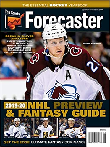 The Sports Forecaster 2019-20 NHL Preview & Fantasy Hockey Yearbook