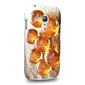 Case88 Premium Designs Dragon Ball Z GT AF Dragon Ball Carcasa/Funda dura para el Samsung Galaxy S3 mini (No Normal S3 !)
