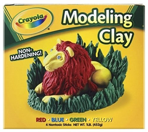 Crayola 57-0300 Modeling Clay Assorted Colors 4 - Clay Magic Model Classpack
