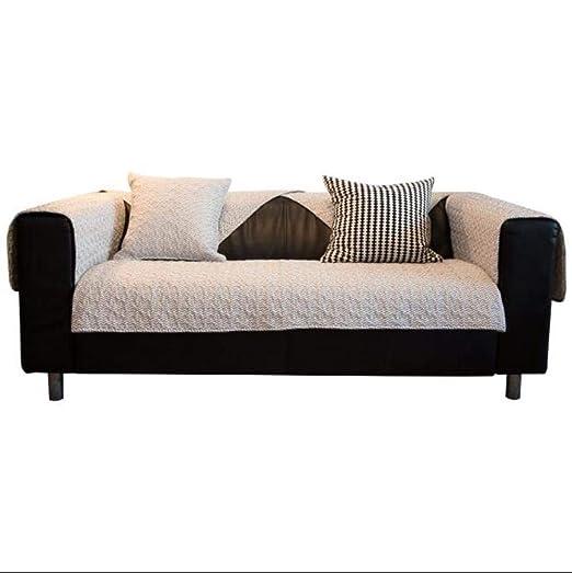 ZheQR Nordic Cotton Sofa Cover Sofa Cushion Sofa Seat Gris ...