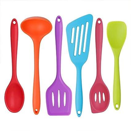 Juego de utensilios de cocina - 6 utensilios de cocina - los mejores utensilios de cocina