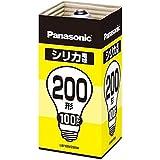 パナソニック シリカ電球200形【1個入】 LW100V200W(NA)