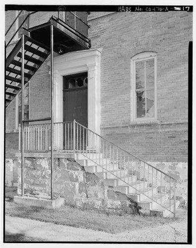 HistoricalFindings Photo: Southern Ute Boarding School,Boy's Dormitory,Ignacio,La Plata County,CO,HABS,24