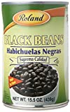 Roland Foods Black Beans, 15.5 Ounce (Pack of 24)