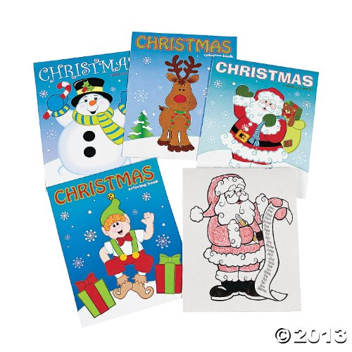 Fun Express Christmas Coloring Books