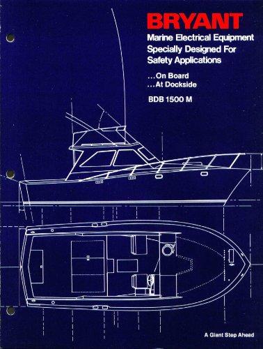 Bryant Marine Electrical Equipment catalog folder 70s
