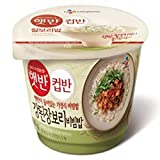 [5packs] CJ Cooked Soybean Paste Rice Cupbahn / instant food / Korean Cupbahn / fast cooked