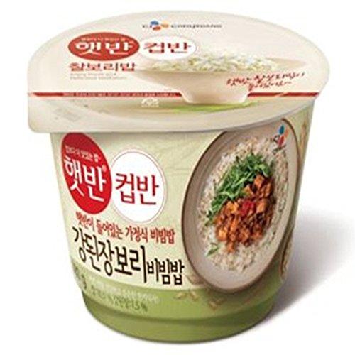[5packs] CJ Cooked Soybean Paste Rice Cupbahn / instant food / Korean Cupbahn / fast cooked