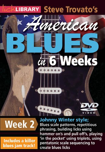 American Blues Guitar In 6 Weeks Week 2 DVD