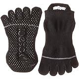 ToeSox Women's Grip Full Toe Low Rise Socks
