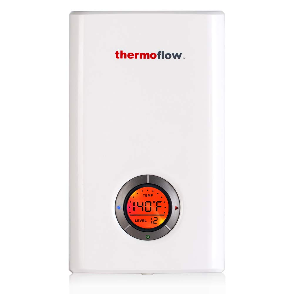 Thermoflow Elex 12 Tankless Water Heater Electric 12kw At 240 Volts Circuit Breakers Service Billie The Girl Instant Hot With Self Modulating Temperature Technology
