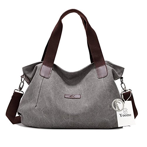 Rosso al Size Beige Yoome gris Bolso One Yoohobo0037 Hombro para Red Mujer CC8FwSxq