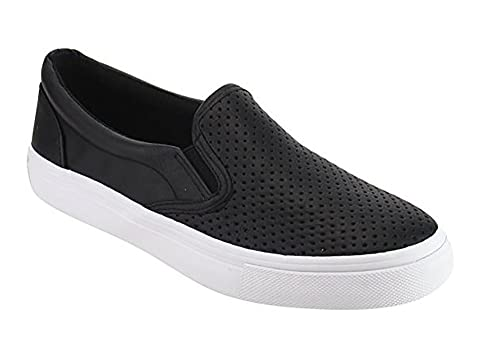 MVE Shoes Women s Tracer Slip On White Sole Shoes cb38c6cc5f