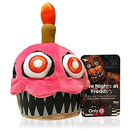 FunKo Peluche Nightmare Cupcake 15 cm. Five Nights at Freddys