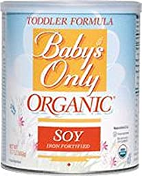 BABY\'S ONLY ORGANIC TODDLR FRM,OG2,SOY,KSH, 12.7 OZ (Pack of 12)