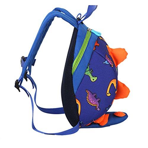 Dark Homebaby Backpack Bag Girls Small Rucksack Cartoon Shoulder Animal Boys School Sweet Cute Baby Dinosaur Blue Toddler Child Kids Travel P8wUPWqr