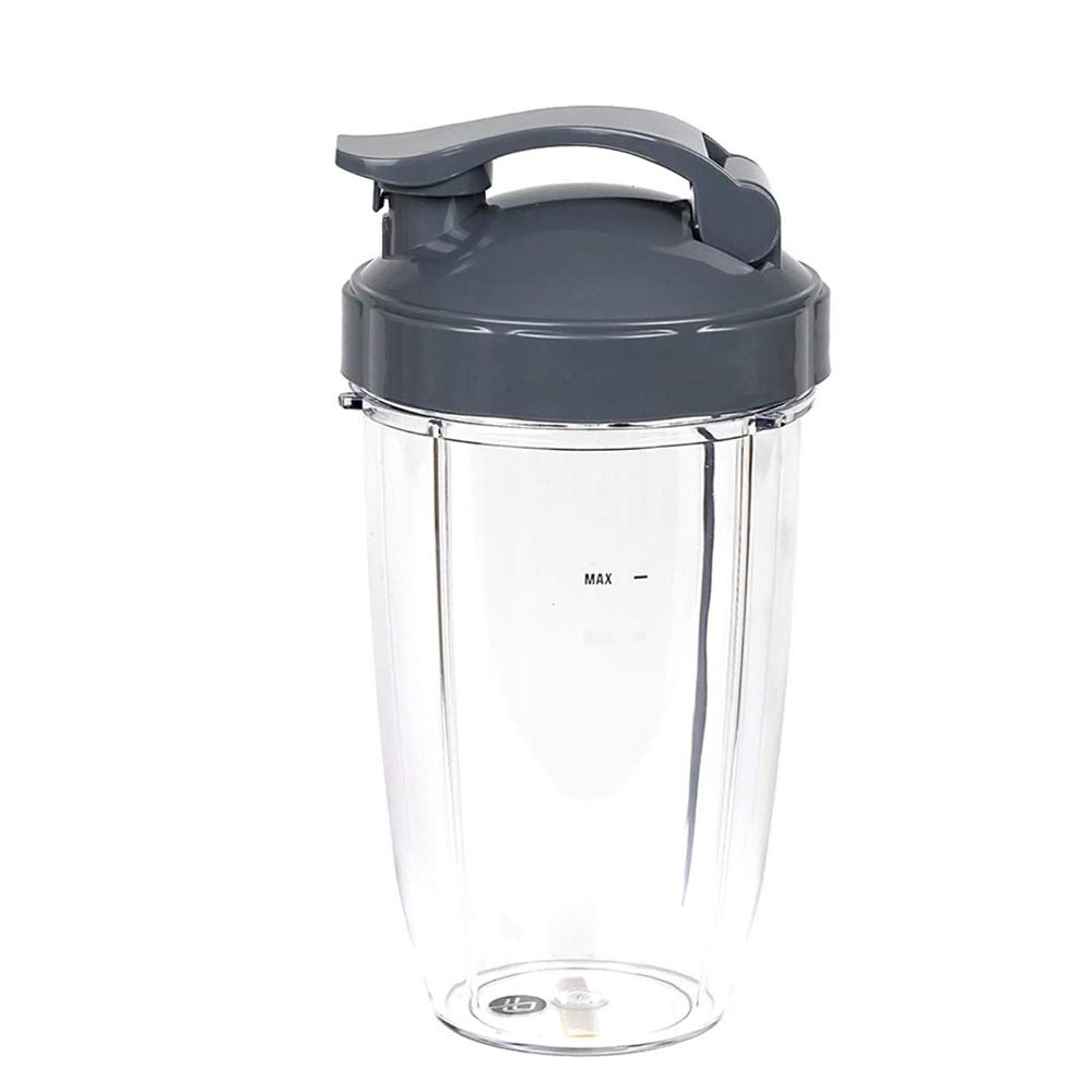 Podoy 24OZ Cups with Extractor Blade for Replacement Nutribullet Accessories Parts 600W//900W Series-Cross Blade with Cup Lids