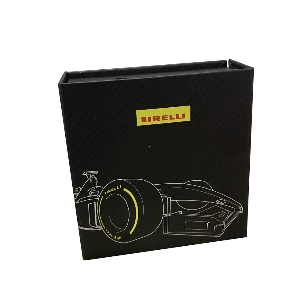 Bellagione F1/ Formula One Racing Auto del Pneumatico Portachiavi Set di 4/ Pacchetto