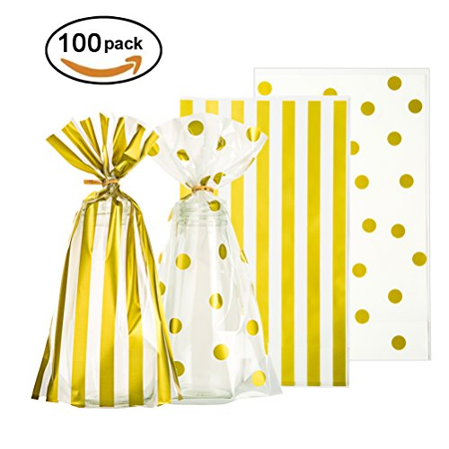 Clear Sweet Gift Bags - 8