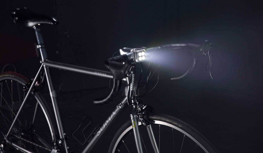 LED Knog Blinder MOB Bike Light Hi-Powered Bicycle Headlight//Taillight USB Rechargeable