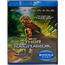 Thor: Ragnarok (Region A Blu-ray) (Hong Kong Version / English Language. Mandarin Dubbed) 雷神奇俠3: 諸神黃昏
