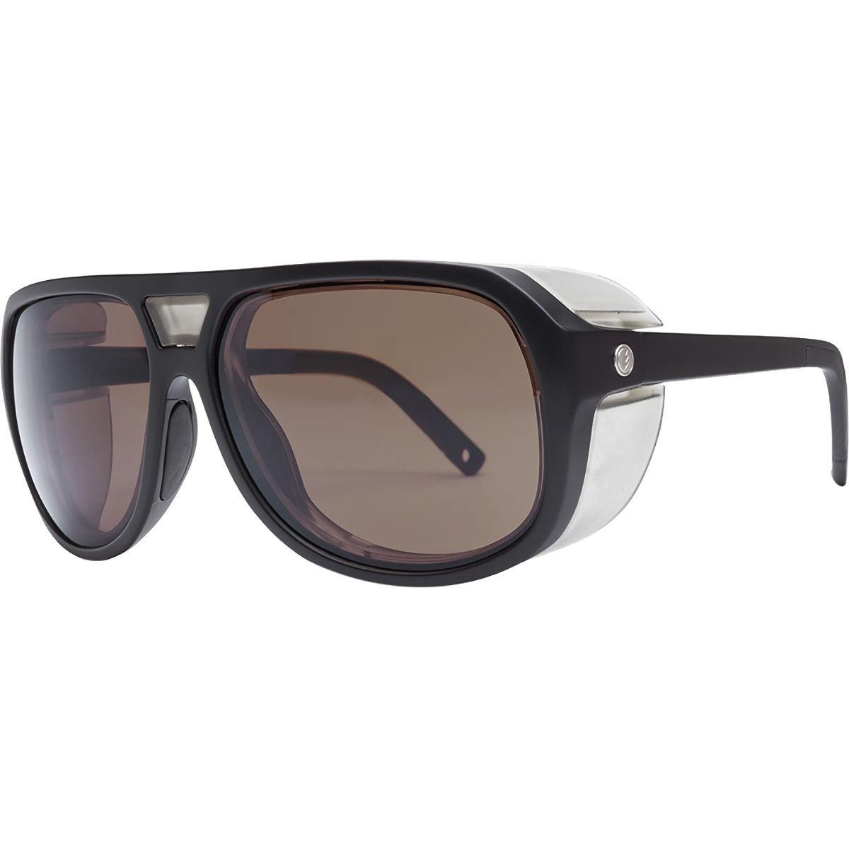 Electric Visual Stacker Matte Black/OHM+Polarized Rose Sunglasses