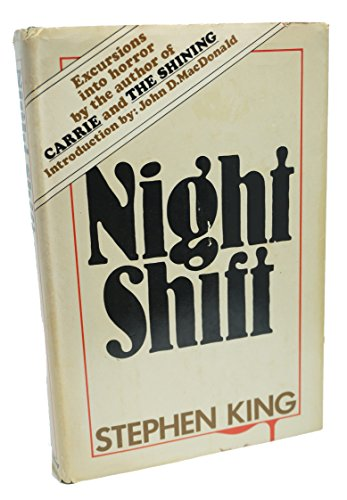 Book cover from Night Shift by Stephen King