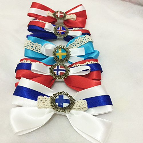 Dreamcosplay APH Axis Powers Hetalia Nordic Logo 5PCS Hairpin Barrette by Dreamcosplay (Image #1)