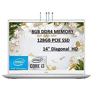 "2020 Newest Dell Inspiron 14 5000 Series 5402 Laptop, 14"" Full HD Screen, 11th Gen Intel Core i3-1115G4 Processor, 8GB RAM, 128GB SSD, Backlit Keyboard, Windows 10 with E.S Holiday32GB USB Card"